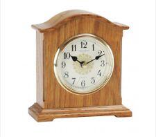 OAK FINISH MANTLE CLOCK 03090