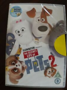 Universal the Secret Life of Pets 2 DVD M FACT Sealed