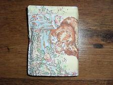 Handmade crayon & notepad set with 6 crayons - Beatrix Potter(3) Squirrel Nutkin