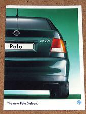 1996 VW POLO SALOON Sales Brochure - 1.6L 1.6CL 1.9SDI