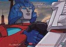 "1987 Rhinomation Transformers Classic Collectible 5"" x 7"" Cel E"