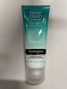 Neutrogena   Deep Clean Purifying Cream-To-Foam Detox Cleanser  3.5 oz.