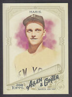 Topps - Allen & Ginter 2018 - Base # 229 Roger Maris - New York Yankees