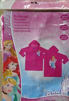 Disney Princess * Regenmantel *Regenjacke* 104/110 * Pink + Motiv * Neu *OVP