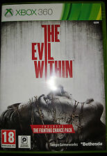 The Evil Within Xbox 360 X360 Game Horror Dark Psychological Excellent Condition