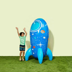 Inflatable Rocket Sprinkler Young Ones Will Have Some Water Fun In The Backyard