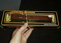 OO Gauge Mainline 37-110 LMS 57 3rd Class Brake/Corridor Coach Crimson 5327