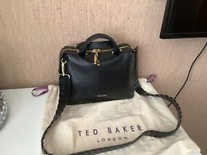 Ted Baker Pipina Braided Handle Leather Tote Bag,