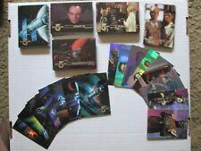 Babylon 5 Fleer Ultra 1995 trading card set with 2 insert sets