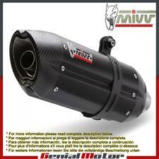 Mivv Exhaust Muffler Suono Black Stainless Steel Kawasaki Ninja 300 2013 > 2016