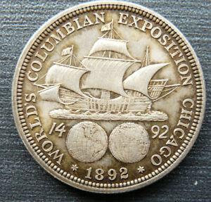 USA HALF DOLLAR COLUMBIAN EXPOSITION 1892
