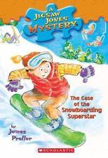 The Case of the Snowboarding Superstar (Jigsaw Jones Mystery #29) HH1306
