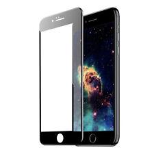 ^ 3D Schutzfolie Display Hart Glas 9H Echt FULL FACE Nokia 6 2018 Schwarz