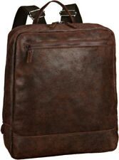Jost Malmo Unisex Rustic Brown leather laptop  backpack BNWT