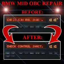 Bmw E31 8-Series Radio Stereo Display Mid Obc Lcd Screen Display Pixel Repair