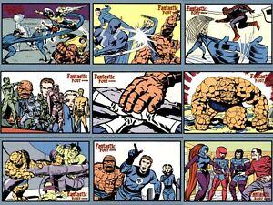 Marvel Fantastic Four 2008 RITTENHOUSE COMPLETE BASE CARD SET #1-72 Archives