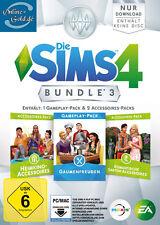 Die Sims 4 Bundle 3 EA Origin Gaumenfreuden Heimkino Romantische Garten PC Key