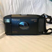 Polaroid Captiva SLR Auto Focus Instant Film Camera f12/107mm Lens + Neck Strap