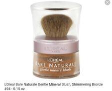 L'Oreal Bare Naturale Gentle Mineral Blush, Shimmering Bronze 494 - 0.15 oz