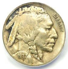 1937-D 3 Legs Buffalo Nickel 5C Coin (Three Legged) - Certified ANACS F15