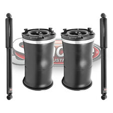 2003-2009 Hummer H2 Rear Air Suspension Air Springs and Gas Shocks - New Pair