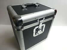 "12"" or LP Record Box Euro Style Case Holds Up To 70 Vinyl Records"