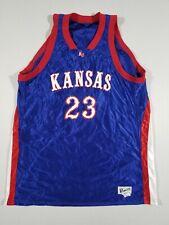 bef74df9738 POWERS Mens Kansas Jayhawks  23 Basketball Jersey
