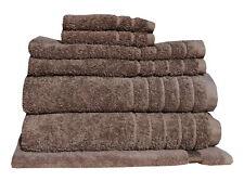 Egyptian Cotton 7 Pieces Towel Set Premium 620GSM Latte