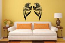Wall Vinyl Sticker Decals Mural Room Design Mural Art Angel Wings bo230