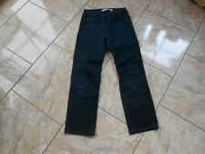 H0615 Levis Slim Fit Coupe Etroite Jeans W30 Blauschwarz ohne Muster