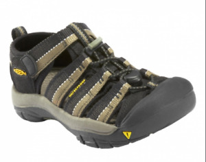 KEEN Newport H2 Sandal (Toddler/Little Kid/),Black/Stone Gray, SZ 8 OR 9