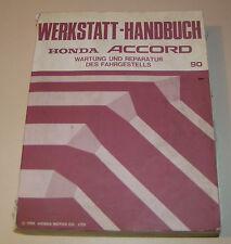Werkstatthandbuch Honda Accord  - Stand 1990!