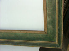 FRAME KNOEDLER GALLERY MODERN POLYCHROME, FITS 17 x 36 INCHES MUSEUM SOLID WOOD