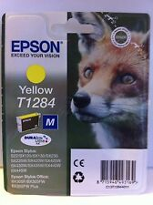 EPSON STYLUS SX130/SX235W ORIGINAL T1284 FOX YELLOW INK CARTRIDGE