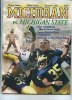 1996 Michigan Wolverines vs Michigan State football program  MBX58