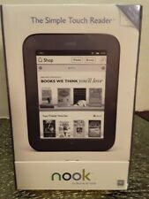 "Nook Barnes & Noble The Simple Touch Reader Tablet NIP 6"" Screen BNRV300 tr125"