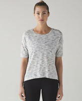 Lululemon Women's Lululemon Run It Up Tee Sleeve Tiger Space Dye Shirt Top 10,12