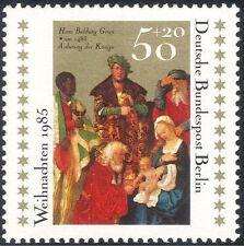 Germania (B) 1985 Natale/Saluti/Natività/arte/Artista/PITTURA/MAGI 1v g10123