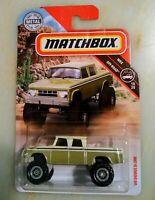 2019 MATCHBOX ~ '68 DODGE D-200 CREW CAB TRUCK ~ MBX OFF-ROAD