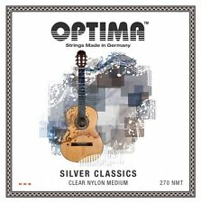 Optima 270 NMT Argento classici Chitarra Concerto Corde Set Strings