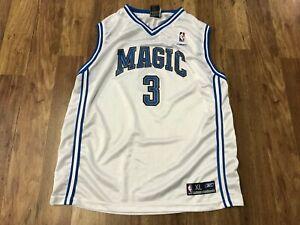 BOYS XL 18/20 - Vtg NBA Orlando Magic #3 Steve Francis Reebok Printed Jersey