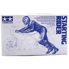 TAMIYA Starting Rider (échelle 1:12) Model Kit 14124 New