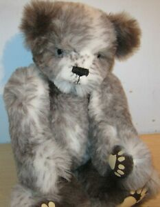 Lovely Soft JOINTED TEDDY BEAR - unknown maker VGC