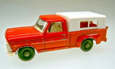 Matchbox RW 06d ford pick-up rojo rara pintadas la placa base