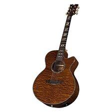 Dean Performer PE QMAH Acoustic-Electric Guitar, Quilt Mahogany