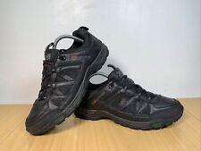Karrimor Summit LTH 00 Black Leather Walking Men's Trainers Size UK 8 EUR 42