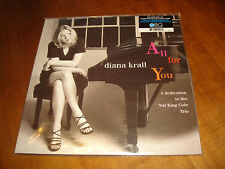 DIANA KRALL All for You Audiophile ORG US 2 LP Limited Edition # 594 NEW SEALED