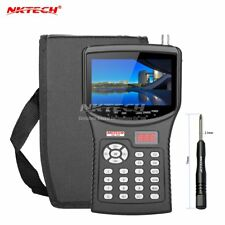 "NKTECH 4.3"" HD Digital Satellite TV Signal Finder Meter NK-620 CCTV Camera Test"