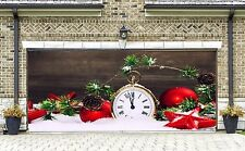 Christmas Garage Door Covers Banners Outside House Decorations Billboard GD27