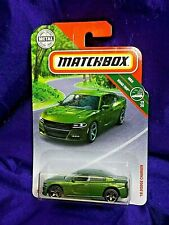 Matchbox '18 Dodge Charger MBX Road Trip Green Die-Cast 1:64 Scale Ages 3 & Up